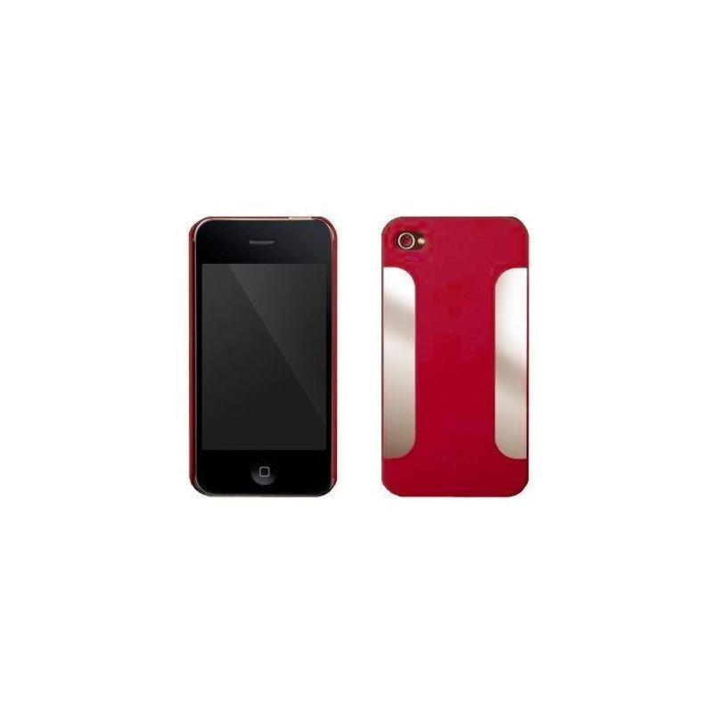 iPhone 4 / 4S More Para Blaze Cover Med 2 Stk Folie - Rød