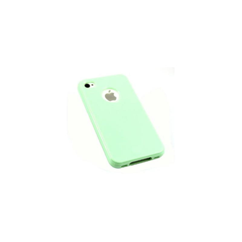 iPhone 4 / iPhone 4S TPU Cover - Mintgrøn