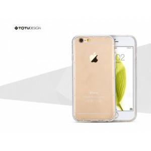 iPhone 6 / 6S TOTU Design Airbag Series TPU Cover - Gennemsigtig