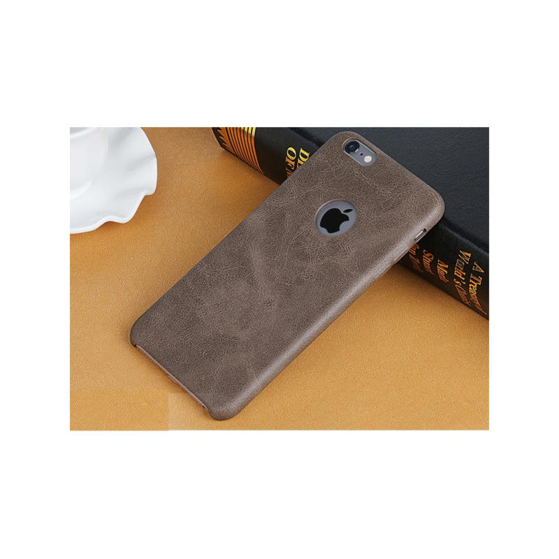 iPhone 6 / 6S Usams Bob Series TPU Cover - Brun