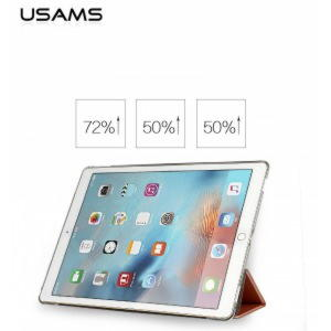"iPad Pro 9.7"" Usams UView Series Smart Cover - Guld"