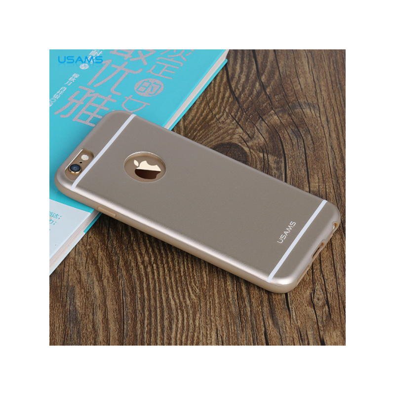 iPhone 6 Plus / 6S Plus Usams Hero Series TPU Cover - Guld