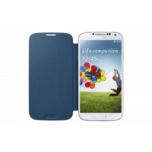 Original Samsung Galaxy S4 Flip Cover - Rigel Blue