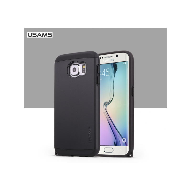 Samsung Galaxy S6 Usams U+ Series Cover - Sort
