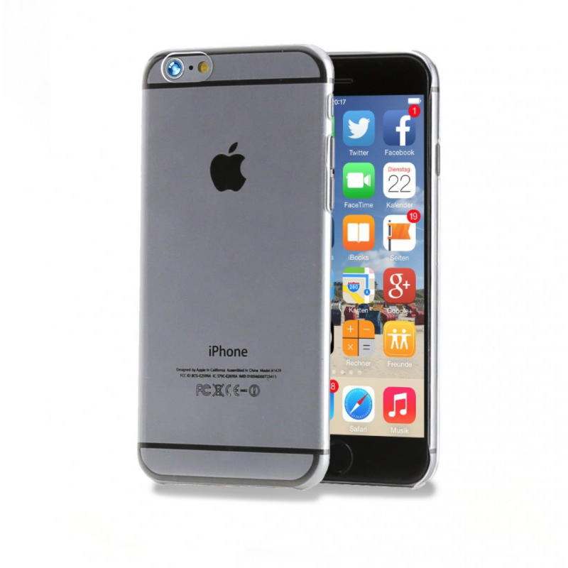 iPhone 6 Crystal Klar Hard Cover - Transparent