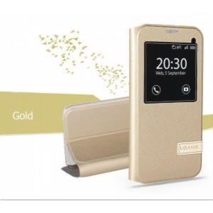 LG G5 Usams Muge Series View Cover - Guld