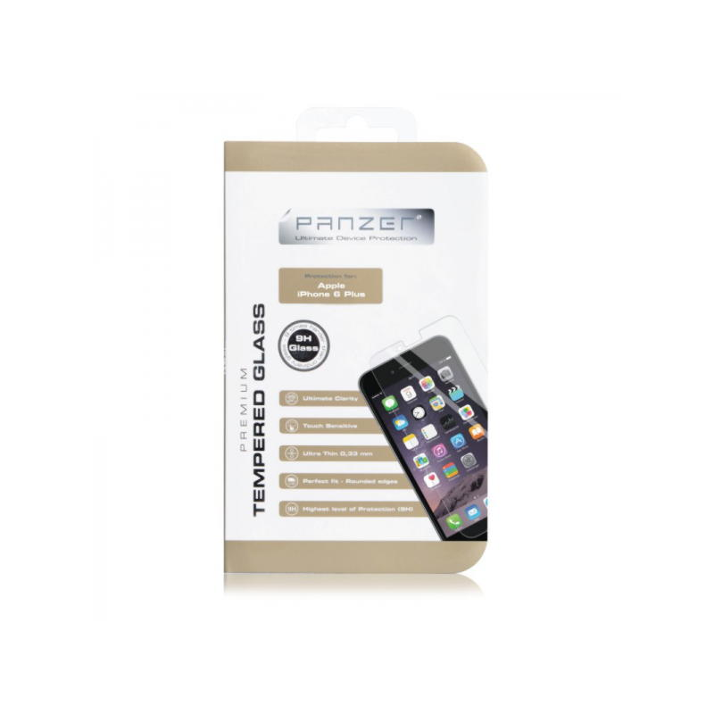 Panzer Tempered Glass Til iPhone 6 Plus / 6S Plus