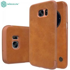 Samsung Galaxy S7 Edge NILLKIN QIN Læder View Cover