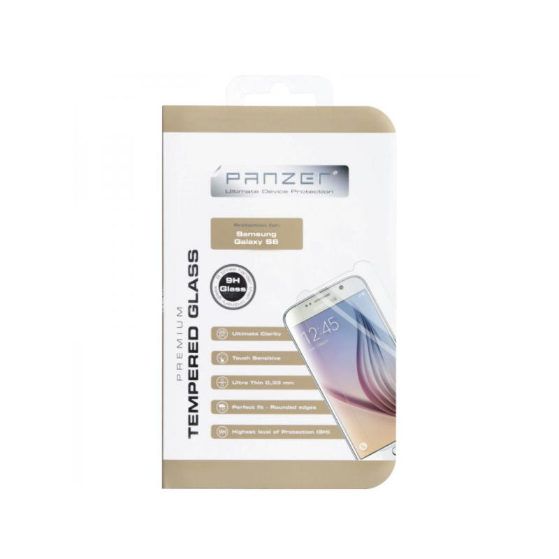 Samsung Galaxy S6 Panzer Tempered Glass