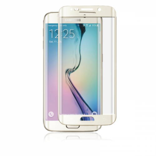 Samsung Galaxy S6 Edge Panzer Tempered Glass F-F Curved
