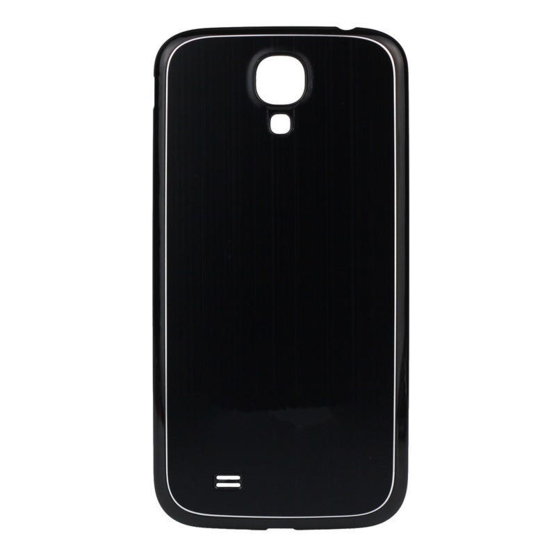 Samsung Galaxy S4 Metal Cover - Sort