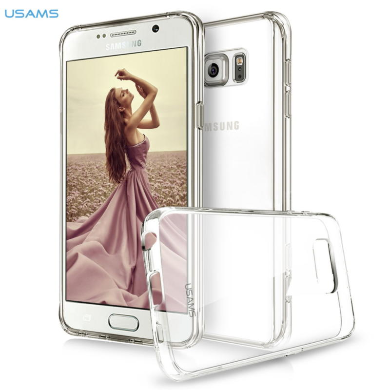Samsung Galaxy Note 5 Usams Glary Series Hard Cover - Gennemsigtig