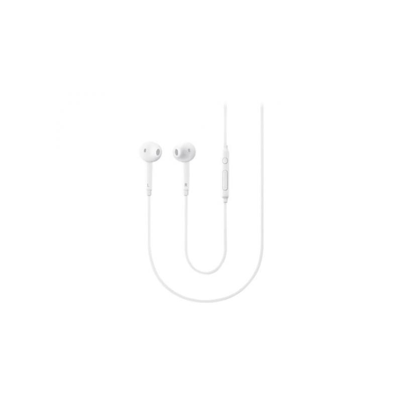 Original Samsung Headphones In-Ear Fit med mic - Hvid