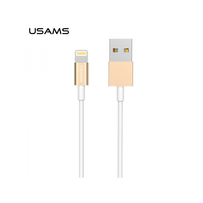 Original Usams Lightning Kabel Med MFI Chip 1m.