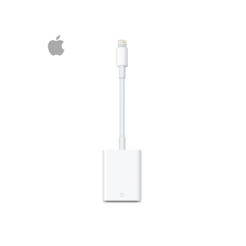 Original Apple Lightning SD-KORT Til Kamera Læser (MJYT2ZM/A)