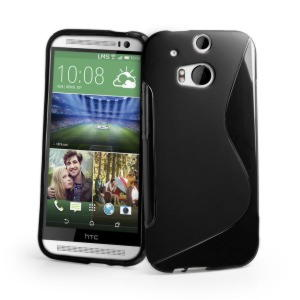 HTC One M8 TPU Cover - Sort