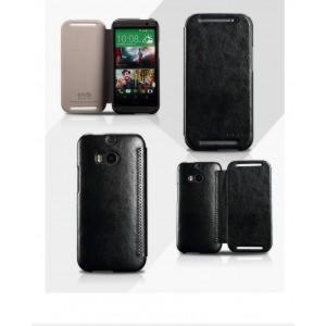 HTC One M8 KLD Enland Series Cover - Sort
