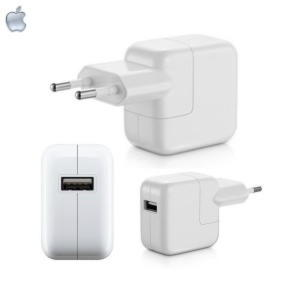 Original Apple Oplader USB Adapter A1401 til iPad / iPhone - Bulk