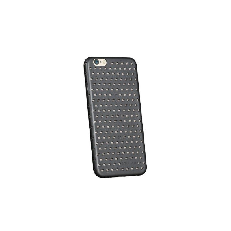 iPhone 6 USAMS Twinkle Stars Hard Cover - Sort