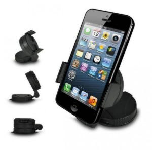 iPhone / Smartphone Bilholder - Sort