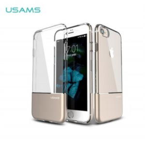 iPhone 7 / iPhone 8 Usams Ease Series TPU Cover - Guld