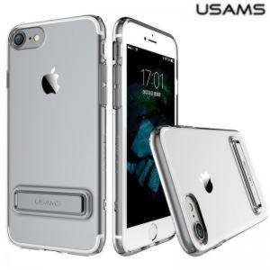 iPhone 7 Usams Bright Series TPU Cover - Sølv