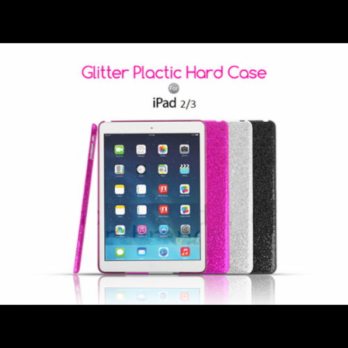 iPad 2 og iPad 3 Glitter Hard Cover
