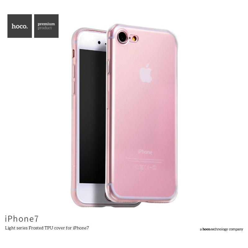 iPhone 7 HOCO Light Series Frost TPU Cover