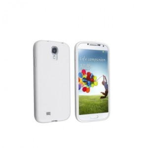 Samsung Galaxy S4 Jelly Cover - Hvid