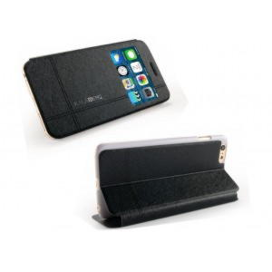 iPhone 6 KLD Iceland Series Flip View Cover - Sort