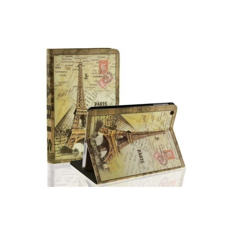 iPad 2, 3 og iPad 4 Folio Cover Paris print