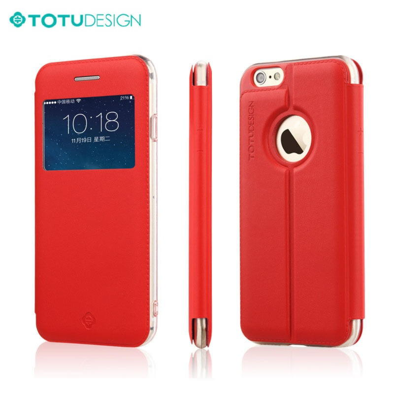 iPhone 6 TOTU Starry View Cover - Rød