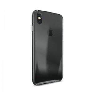 iPhone X Puro Ultra-Slim 0.3 Nude Cover - Sort