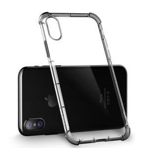 iPhone X ROCK TPU Cover - Transparent