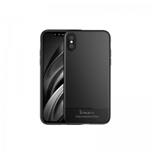 iPhone X iPAKY Mosy Series TPU Cover - Sort
