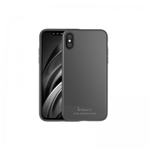 iPhone X iPAKY Mosy Series TPU Cover - Grå