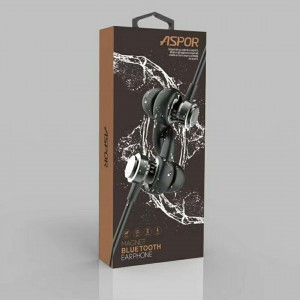 Aspor Sports Bluetooth Headset Med Magnet - God Lyd