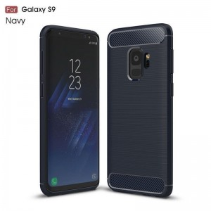 Samsung Galaxy S9 Carbon TPU Cover - Grå