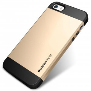 iPhone 4 / 4S Slim Armor cover - Guld
