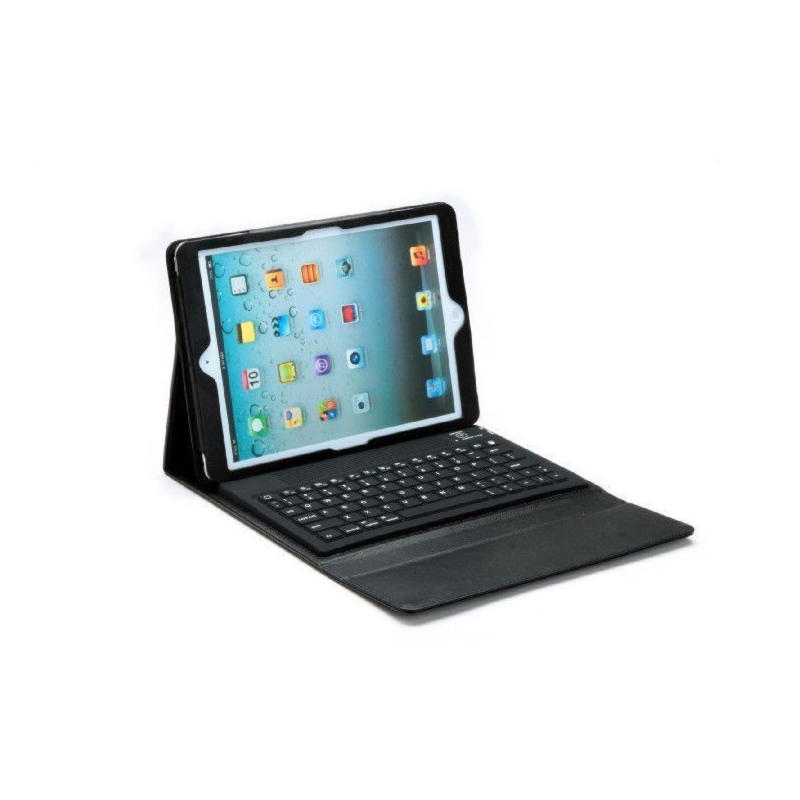 ipad air ipad air 2 dansk bluetooth tastatur med cover. Black Bedroom Furniture Sets. Home Design Ideas