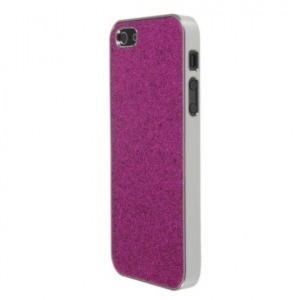 iPhone 5 / 5S / SE Bling Cover - Rosa
