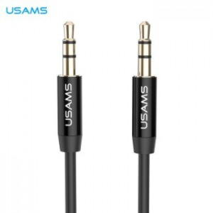 Usams AUX 1m Kabel 3.5mm - Sort