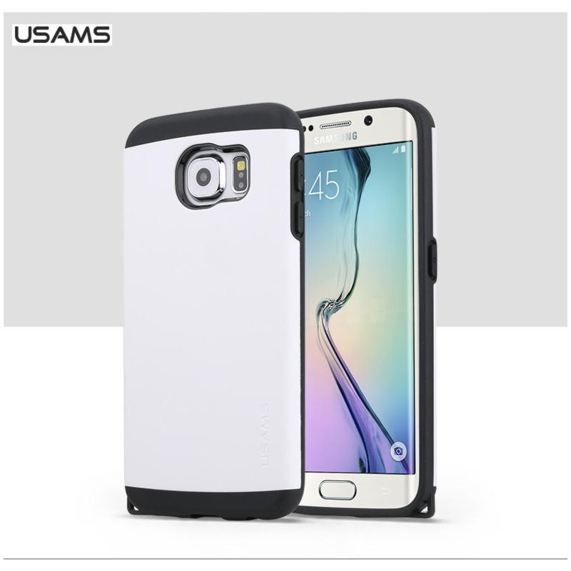 Samsung Galaxy S6 Usams U+ Series Cover - Hvid