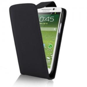 Samsung Galaxy S3 Flip Cover - Sort