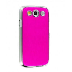 Samsung Galaxy S3 Metal Cover - Pink