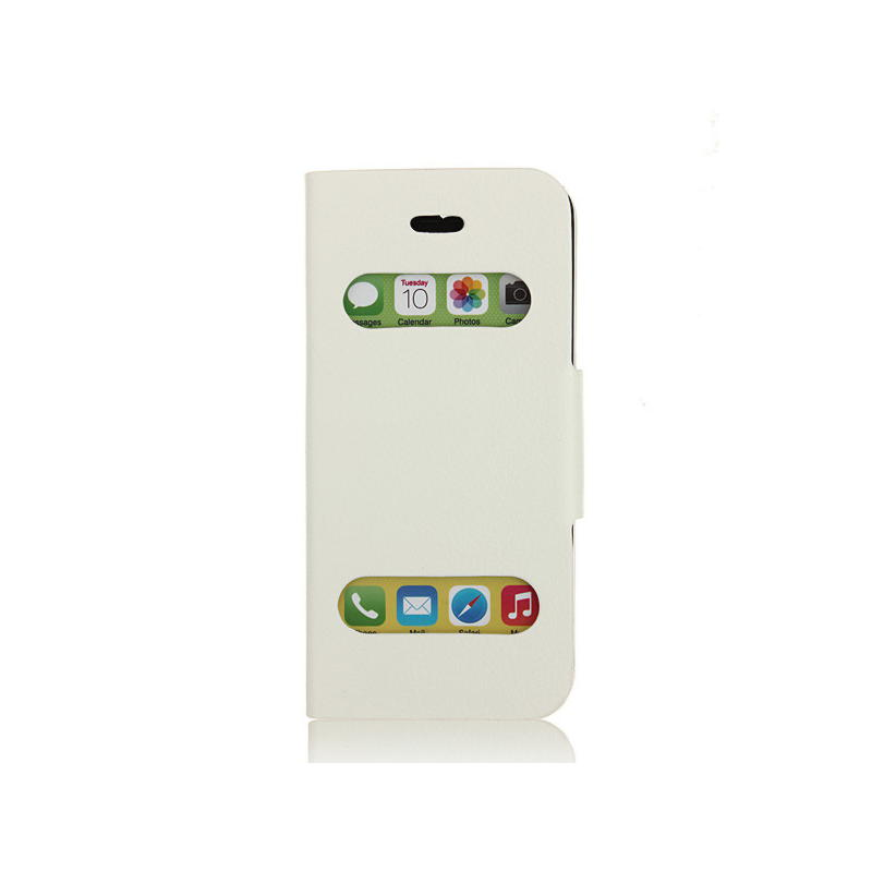iPhone 5 / 5S / SE Slide Cover - Hvid