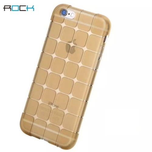 iPhone 6 / 6S Rock Cube Series TPU Cover - Guld