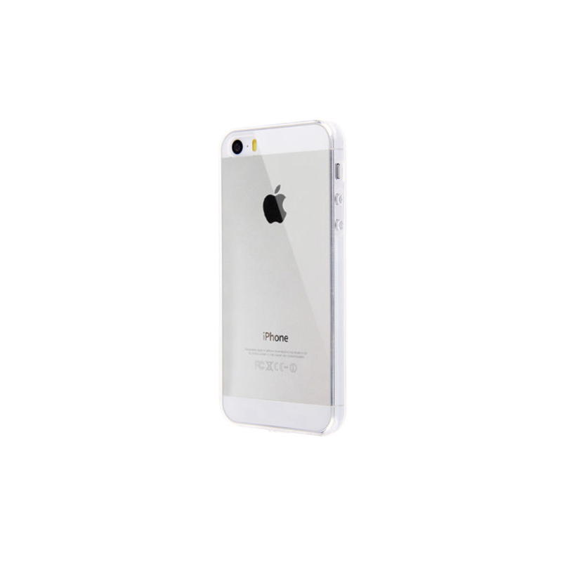iPhone 5 / 5S / SE Ultra Tynd TPU Cover - Gennemsigtig