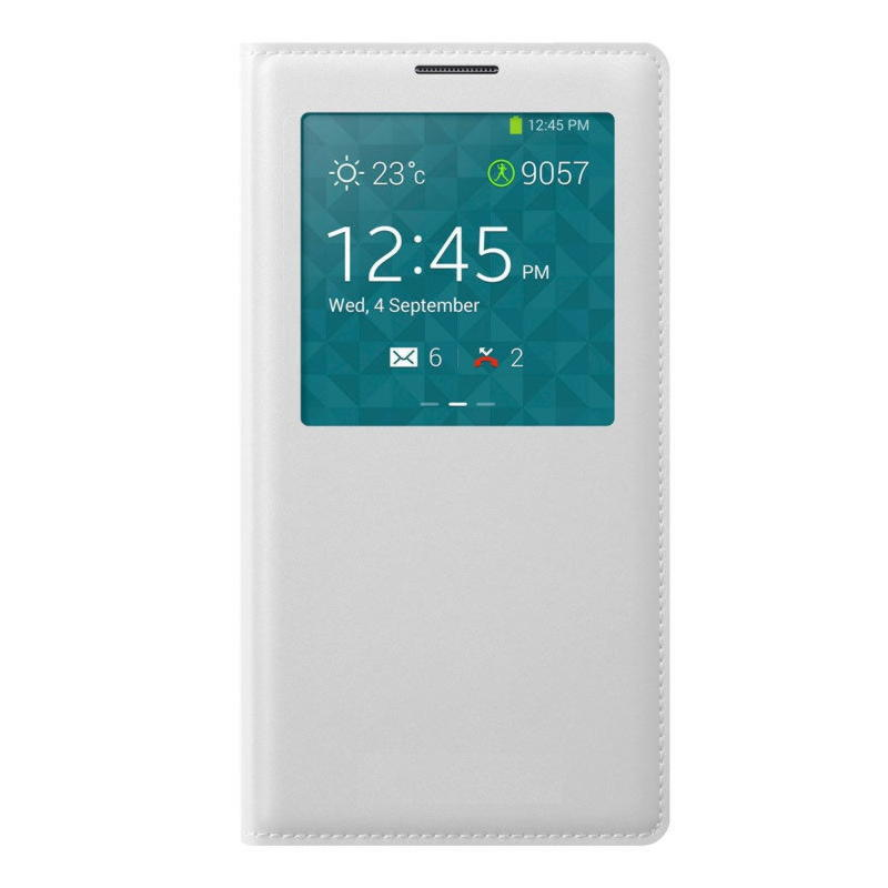 Samsung Galaxy Note 3 View Cover - Hvid