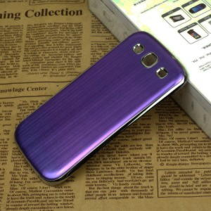 Samsung Galaxy S3 Metal Cover - Lilla